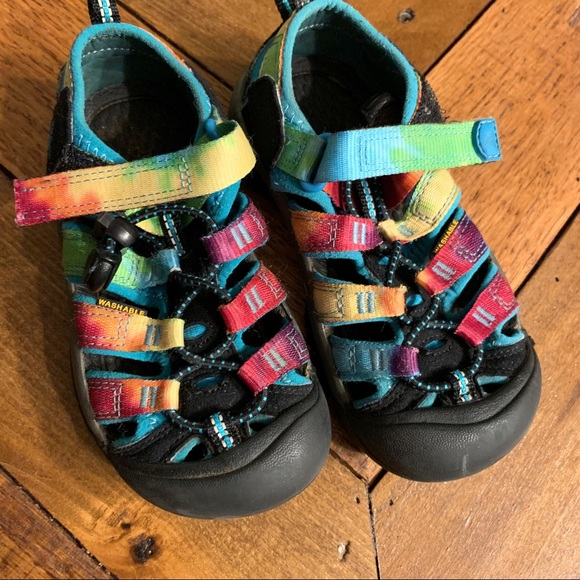 Keen Rainbow Kids Water Hiking Shoes 1